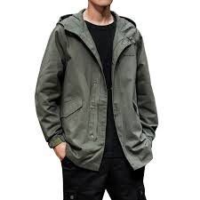 <b>Men Spring Autumn</b> Trench Coat Office Smart Casual British Style ...