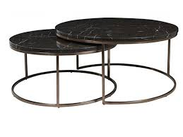 Round Marble Top Coffee Table Inspirational Elle Round Marble Nest Coffee  Tables In Melbourne