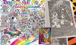 supply brand lisa frank returns back with a line of coloring books daily mail