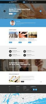Construction Website Templates Construction Company Responsive Website Template 24 9