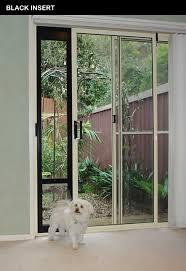 dog door panel for sliding door