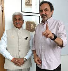 It was wonderful meeting Dr. Prannoy Roy - Vijayasai Reddy Venumbaka