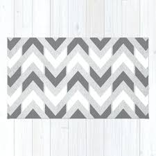 grey and white chevron rug grey white herringbone chevron rug gray and white chevron rug 5x7