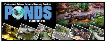 water garden bridges