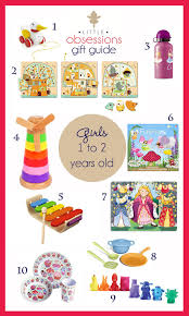 Little Obsessions Gift Guide - 1 and 2 year old girls \u2014