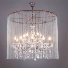 new iron retro crystal chandelier led lamps loft retro birdcage crystal chandelier lamp e14 led light