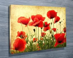wall art poppies photos poppies canvas wall art wall art ideas stunning poppies wall art photos wall art poppies