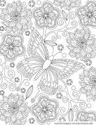 Kleurplaat Vlinder Gratis Kleurpaginas Om Te Downloaden