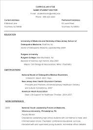 Word Resume Template Free Easy Template Free Resume Example Word