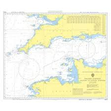 Admiralty Chart 2675 Admiralty Chart 5053 English Channel Western Central Portions Instructional Chart