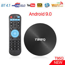 T95Q Android TV Box S905X2 Quad Core 4GB RAM 32GB/64GB/ ROM USB 3.0 BT 4.1  Android 9.0 2.4G/5.8G Wifi Smart 4K H.265 Set Top Box|Set-top Boxes