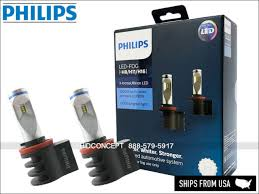 <b>100</b>% <b>Original Philips</b> H8/H11/H16 X-treme Ultinon Automotive LED ...