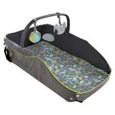 Amazon Ed Bauer Infant Travel Bed Black green Baby