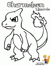 Small Picture Pokemon Charmander Coloring Pages For Kids And For Adults