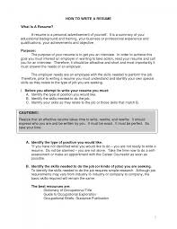 proper way to write resume how a great chronological education gallery of car sman education