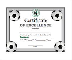 Free Soccer Certificate Templates Soccer Certificate Template 18 Psd Ai Indesign Word