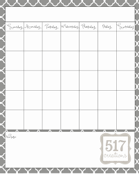 Fresh 49 Design Calendar Template Print Outs | Distriktslegen.com