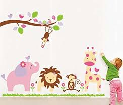 Small Picture Buy Decals Design Baby Cartoon Animal Kingdom Kids Wall Sticker
