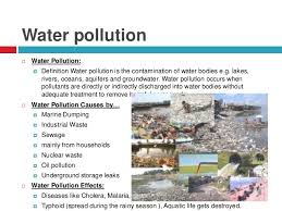 environment environmental pollution causes effects privents 6 water pollution