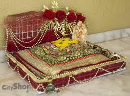 Saree Tray Decoration RATIOS Wedding Trousseau Wedding Favors Home Decor 19