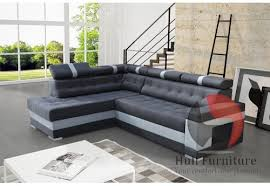 boss corner sofa bed with bedding