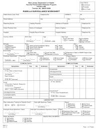 21 posts related to printable social security disability forms. Form Imm 10 Download Printable Pdf Or Fill Online Rubella Surveillance Worksheet New Jersey Templateroller