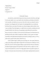 final in his essay on the importance of reading dana gioia  essay