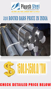 Round Bar Steel Weight Chart Ss 310 Round Bar Astm A276 Aisi 310 Stainless Steel Round