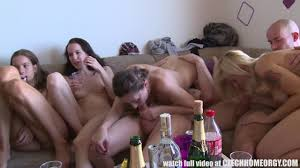 Sex orgy video party