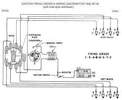 images about wiring cars chevy and trucks spark plug wiring for 1942 to 45 ford