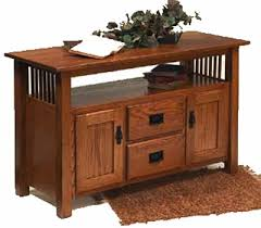 craftsman style furniture. Craftsman Collection Mission Revival Style Furniture Console Table