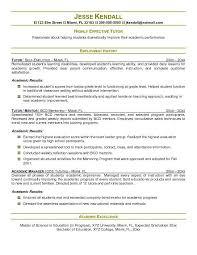 ... Nobby Design Resume For Tutor Example Teacher Preschool Sample ...