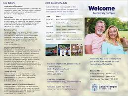 Church Welcome Brochure Samples 30 Free Downloadable Brochures