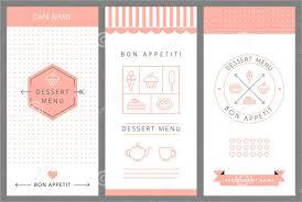 Menu Templates Design 20 Dessert Menu Templates Free Sample Example Format Download
