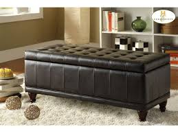 Padded Benches Living Room Awesome Bench For Living Room Design Storage Bench Overstock