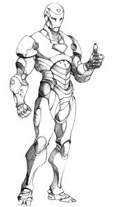 Iron man black and white clipart. Free Printable Iron Man Coloring Pages For Kids Best Coloring Pages For Kids