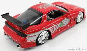 mazda rx7 fast and furious. jada 98338 scale 124 mazda rx7 2001 dominic toretto fast mazda rx7 fast and furious