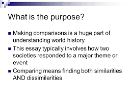 comparative essay comparative writing ppt video online 2 what is the purpose