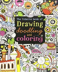 the usborne book of drawing doodling and coloring fiona watt erica harrison katie lovell 9780794527884 amazon books