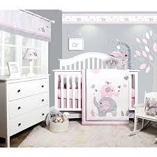 pink and grey elephant nursery bedding sets pink grey elephant 6 piece girl nursery crib pink elephant nursery art
