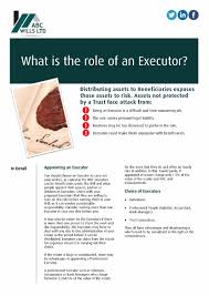 will maker direct online will writing software what is the role of an executor