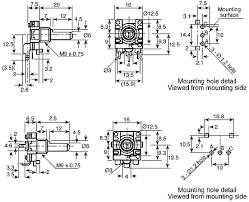 ec16b2410408 alps 24 pulse incremental mechanical rotary encoder encoders