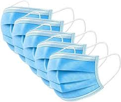 KETONG <b>50 pieces Disposable</b> Profession Protective filter 3-Ply ...