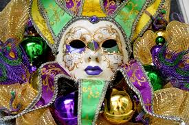 make your door the envy of the neighborhood for mardi gras when you put this diy