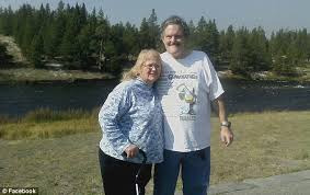 Disabled widow      SCAMMED out of      by suitor on Christian dating     Berggrun  seen here with her late husband Terrell  went on the dating site looking