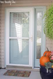 blue willow front door