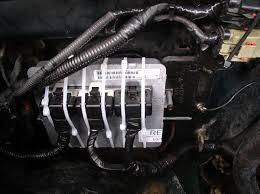 broken lock tabs on pcm connectors jeepforum com 2004 Jeep Wrangler Ecm Wiring not pretty but it works 2004 Jeep Wrangler Wiring Diagram