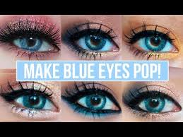 gorgeous eyeshadow looks for blue eyes