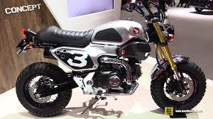 honda grom 50 scrambler concept one walkaround 2016 tokyo motor show