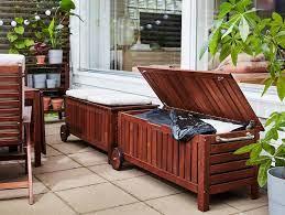 patio storage outdoor storage bench